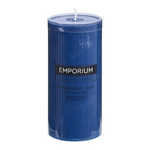 Emporium Midnight Sky Scented Pillar Candle