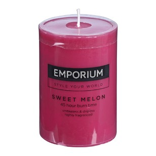 Emporium Sweet Melon Pillar Candle
