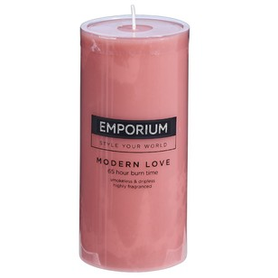 Emporium Modern Love Scented Pillar Candle