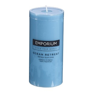 Emporium Ocean Retreat Scented Pillar Candle