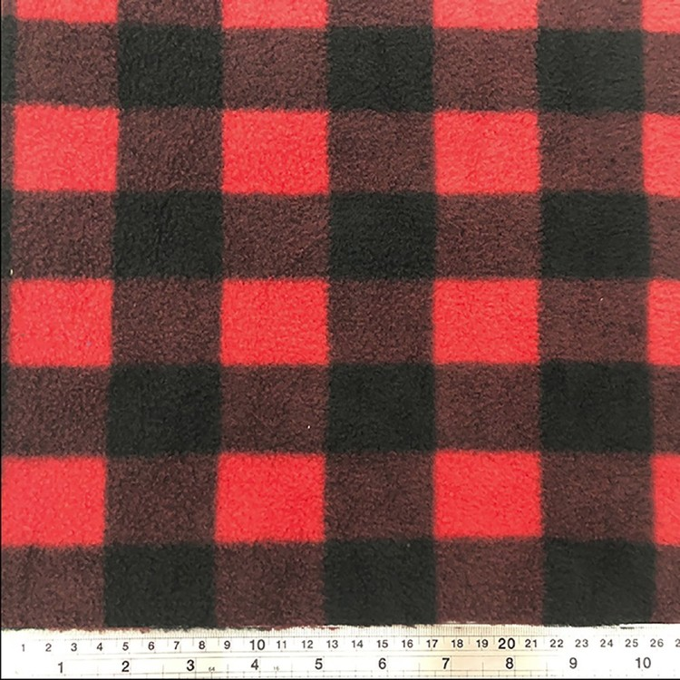 Woodcutter Printed 148 cm Husky Fleece Fabric