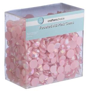 Crafters Choice Faceted Pink Gems