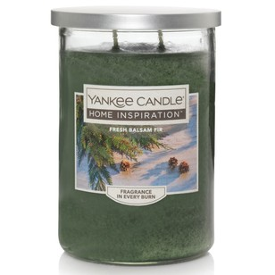 Yankee Candle Home Inspiration Large Tumbler Jar Fresh Balsam Fir