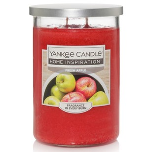 Yankee Candle Home Inspiration Large Tumbler Jar Fresh Apple