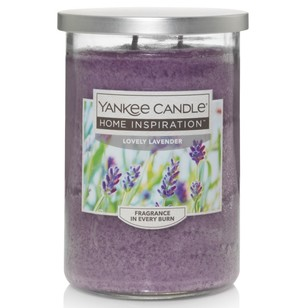 Yankee Candle Home Inspiration Large Tumbler Jar Lovely Lavender