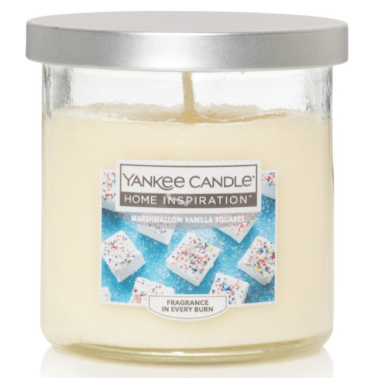 Yankee Candle Home Inspiration Small Tumbler Jar Marshmallow Vanilla Squares