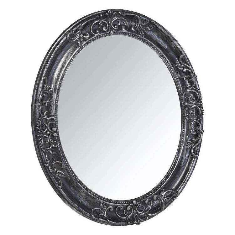 Frame Depot Oval Baroque Mirror