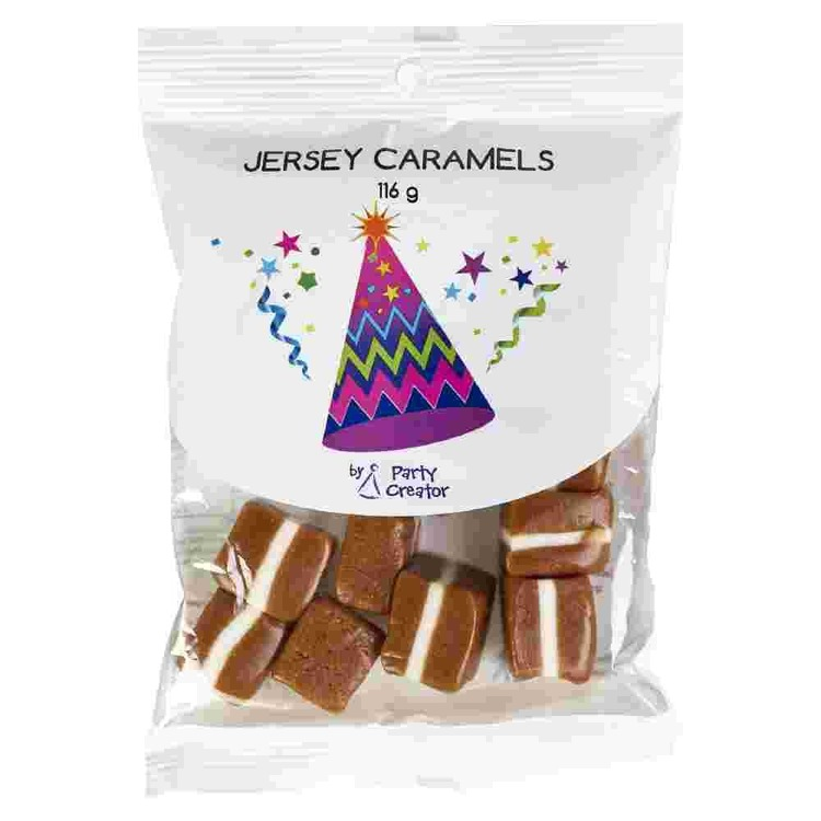 Party Creator 116 G Jersey Caramels Brown 116 g - Everyday Bargain
