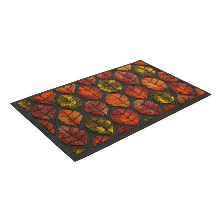 AMS Outdoor Leaves Patterned Mat