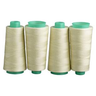 Birch Polyester Overlocking Thread 4 Pack