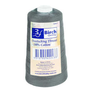 Birch 3000 Metre Cotton Overlocking Thread