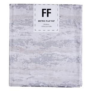 Fabric Editions Flat Fats metallic Texture White Wood