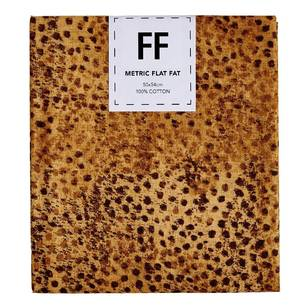 Fabric Editions Flat Fats metallic Texture Burnt Dots
