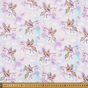 Heavenly Creatures Printed Poplin Fabric