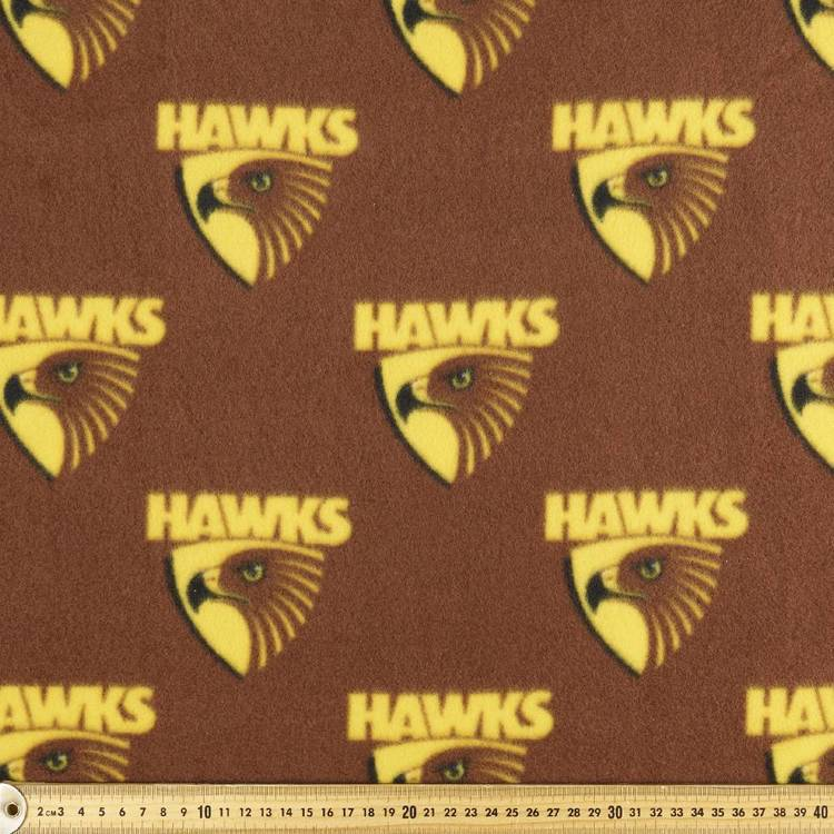 AFL Hawthorn Hawks Logo Fleece