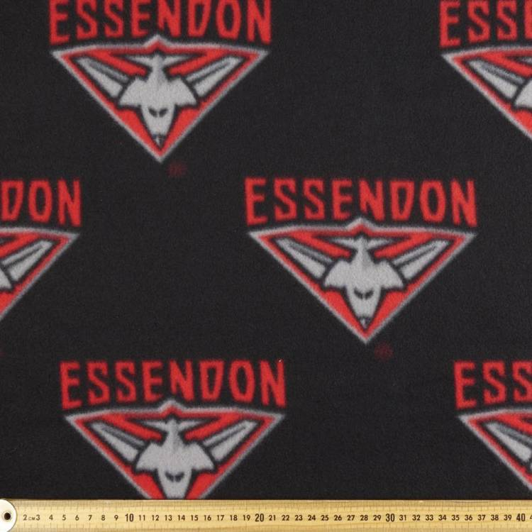 AFL Essendon Bombers Logo Fleece