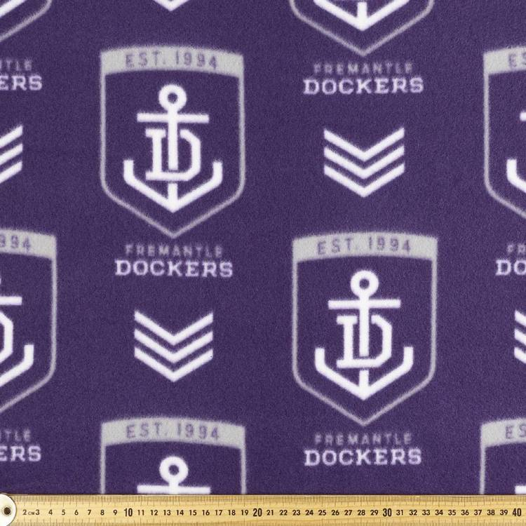 AFL Fremantle Dockers Logo Fleece