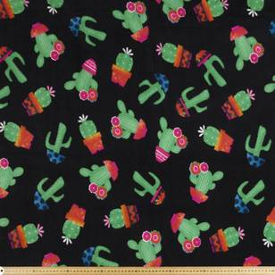 Nordic Fleece Cactus Fabric