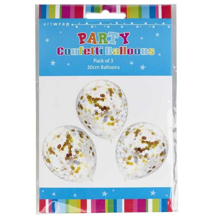 Artwrap Confetti Balloon 3 Pack