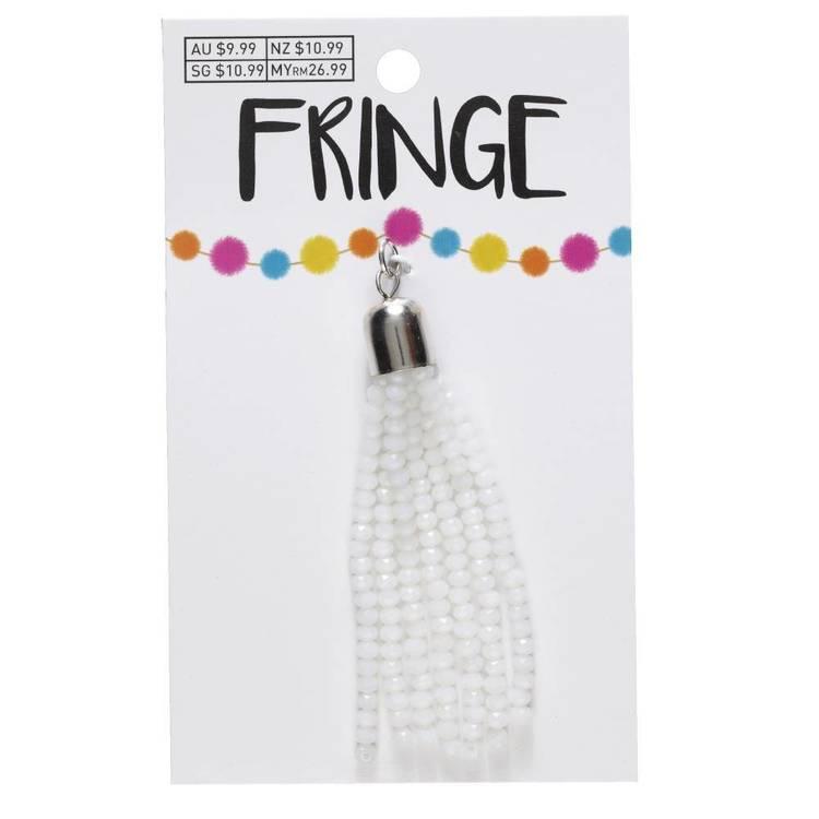 Fringe Faceted Bead Tassel