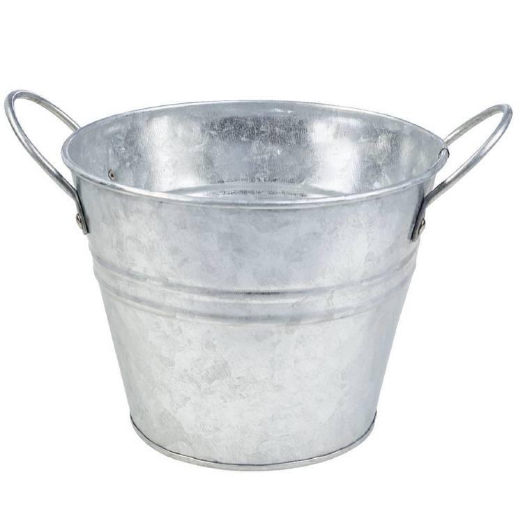 Francheville Round Galvanized Bucket
