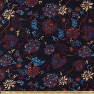 Printed Rayon Ethnic Brights Fabric