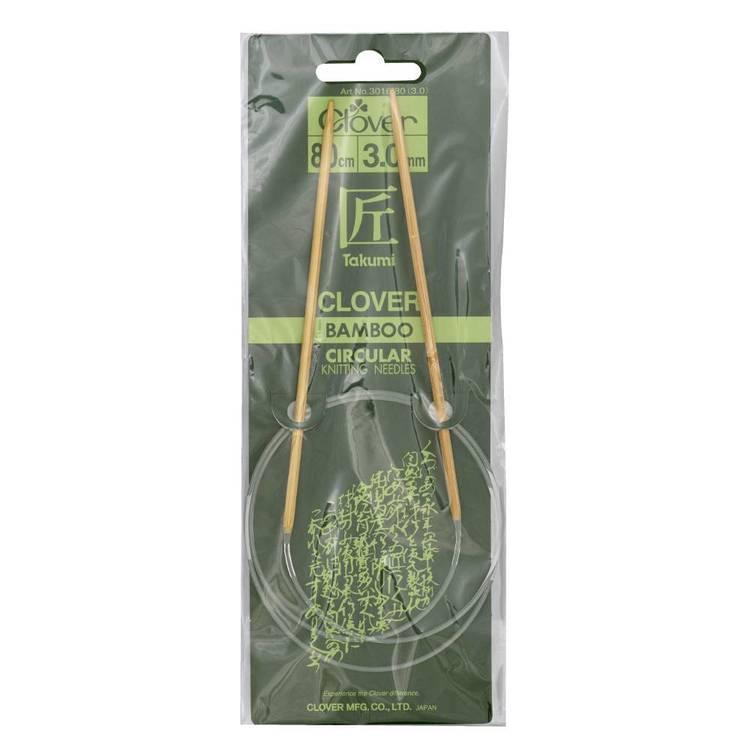 Clover Circular Knitting Needle 80 cm