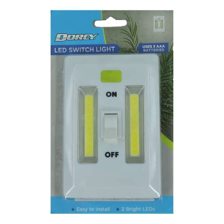 Dorcy 3 AAA LED Switch Light White Small