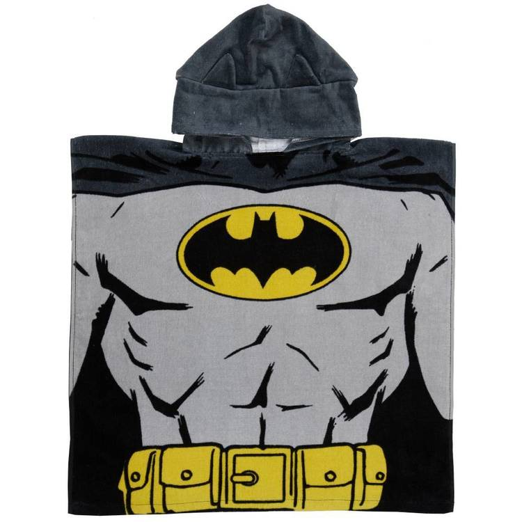 Batman Beware Hooded Towel