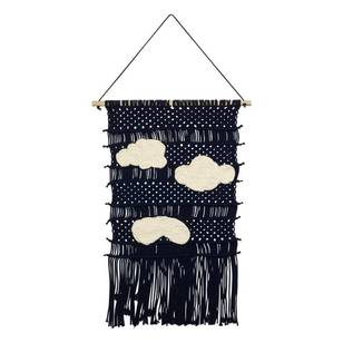 Living Space Macrame Blue Clouds Wall Hanging
