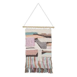 Living Space Fairy Floss Macrame Wall Hanging
