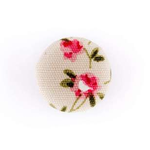 Hemline Fabric Covered Button