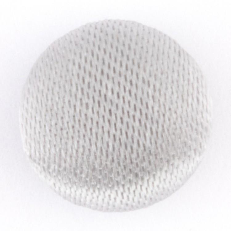 Hemline Plain Fabric Covered Button