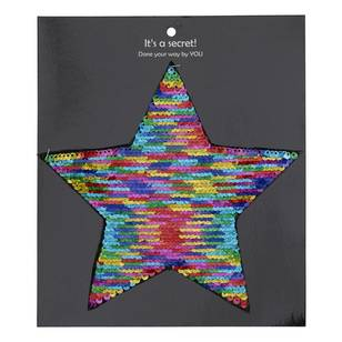 Semco Reversible Sequin Star Motif