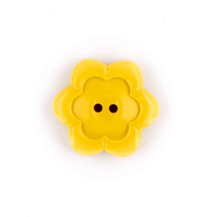 Hemline Novelty Flower Button