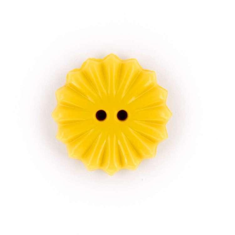 Hemline Novelty Daisy Shape Button