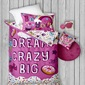 Jojo Siwa Quilt Cover Set Pink Single