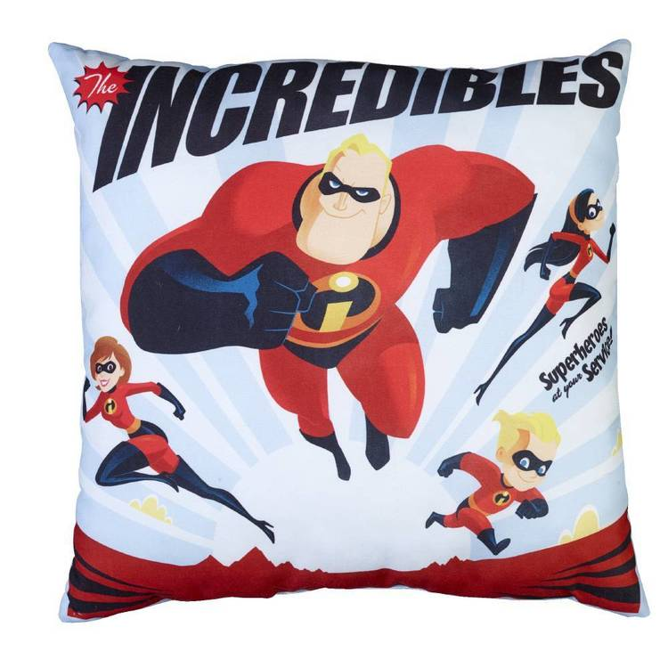 Incredibles Cushion Red
