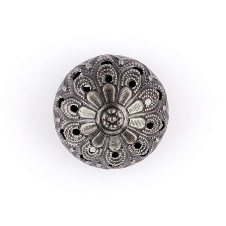 Hemline Metal Cone Button