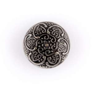 Hemline Metal Dome Button