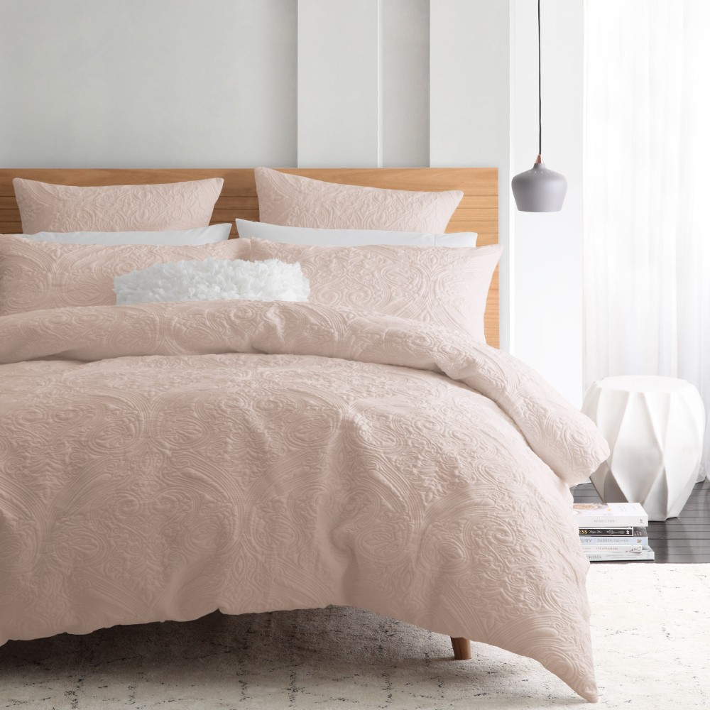 NEW-KOO-Kensington-Quilted-Quilt-Cover-Set-By-Spotlight