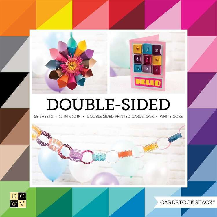 Die Cuts With A View Double Sided Paper Pad