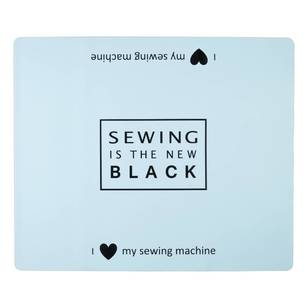 Sewing Machine Mat - Sew is New Black - Everyday Bargain