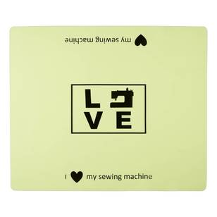 Sewing Machine Mat - Love - Everyday Bargain