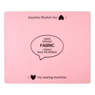Sewing Machine Mat - Fabric Quote - Everyday Bargain