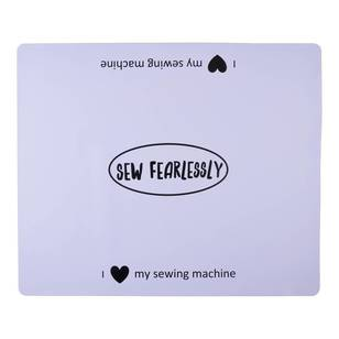 Sewing Machine Mat - Sew Fearlessly - Everyday Bargain