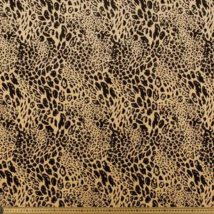 Cheetah Printed Velour Fabric