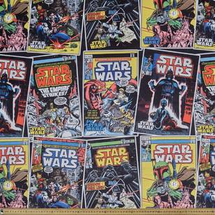 Star Wars Comic Allover Fleece Fabric