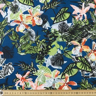 Buzoku Cotton Duck Palm Garden Printed Fabric