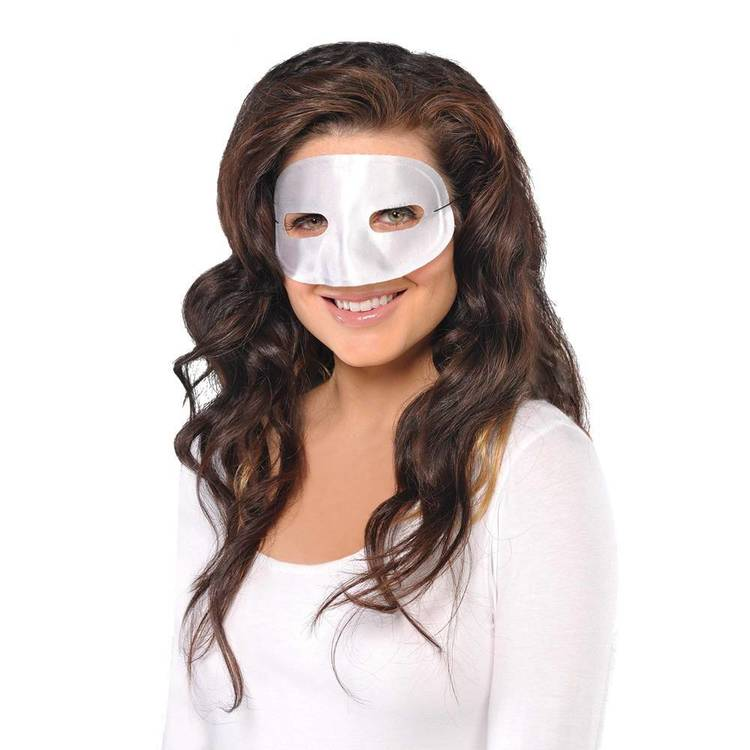 Amscan Mask Standard Eye White